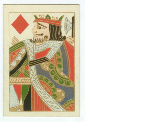 A pack of English playing cards, by Thomas De La Rue & Co., 1834,