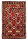 A Sarouk Feraghan rug, West Persia, circa 1900, 6 ft 5 in x 4 ft 3 in (195 x 130 cm) losses to both ends, evidence of colour run