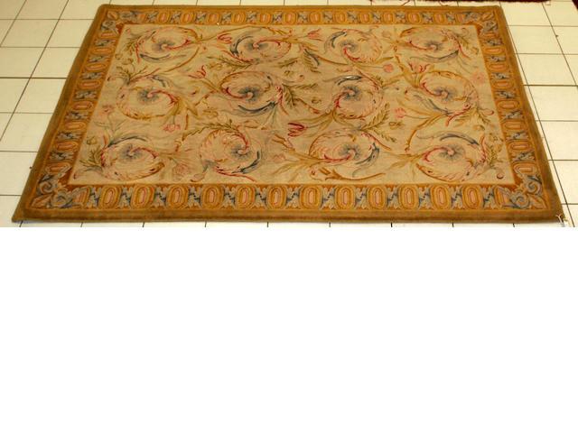 A Savonnerie style carpet 277 x 186cm