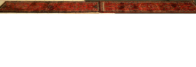Lilihan runner, West Persia, 603 x 81.5cm