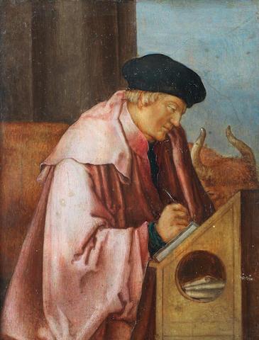 After Lucas van  Leyden, 17th Century Saint Luke the Evangelist; and Saint Matthew the Evangelist  (2)