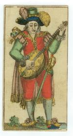 A pack of German tarock playing cards, designed by Daniel Chodowiezki, circa 1785,