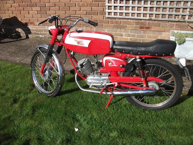 1968 Moto Morini 49cc Corsarino Frame no. 17873