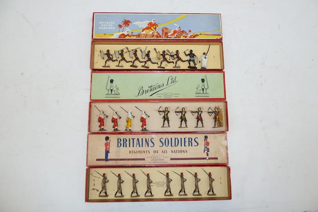 Britains Arabs and Native Warriors 41