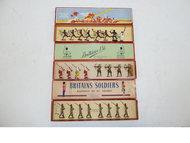 Britains Arabs and Native Warriors 39