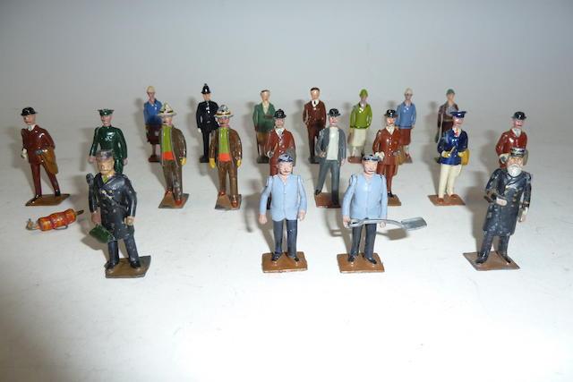 Britains Civilians and Railway Figures 20