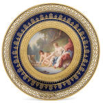A Meissen cabinet plate, second half 19th century