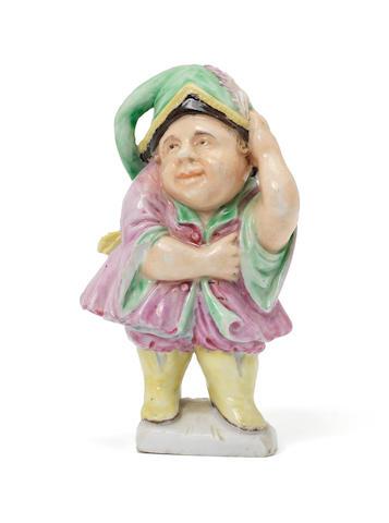 A Cozzi figure of a dwarf, circa 1770