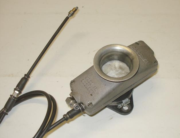 A Gardner 40mm carburettor,