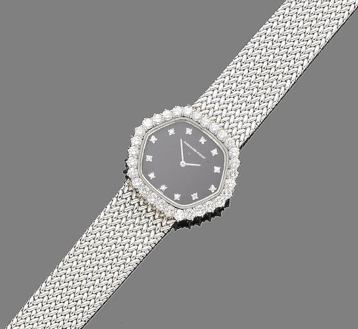 A diamond-set wristwatch, by Audemars Piguet
