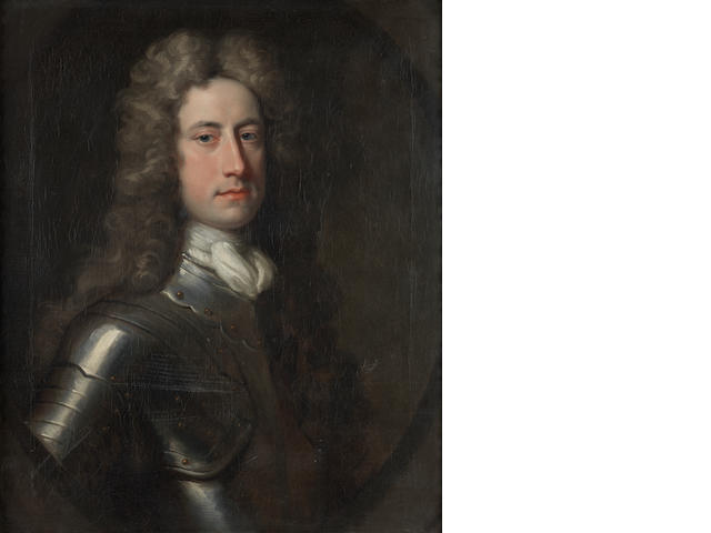 Circle of Jonathan Richardson (London 1665-1745) Portrait of William Stanhope, 1st Earl of Harrington (1683?-1756)