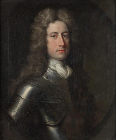 Circle of Jonathan Richardson (London 1665-1745) Portrait of William Stanhope, 1st Earl of Harrington (1683?-1756)