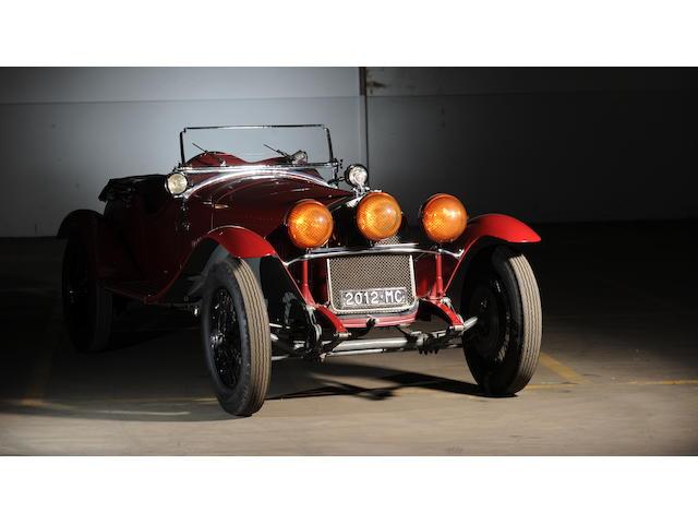 Ex-Luigi Scarfiotti, Scuderia Ferrari,1930  Alfa Romeo  6C 1750 Gran Sport Spider  Chassis no. 8513033 Engine no. 8513033