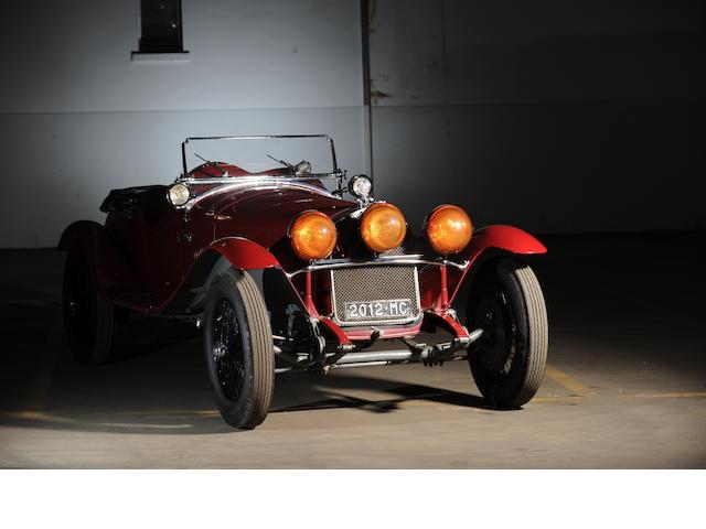 1930 Alfa Romeo  6C 1750 Gran Sport Spyder Ex Scuderia Ferrari, Chassis no. 8513033 Engine no. 8513033