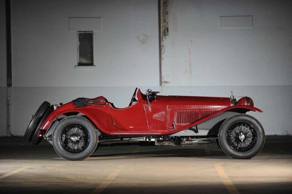 Bonhams Ex Luigi Scarfiotti Scuderia Ferrari 1930 Alfa Romeo 6c 1750 Gran Sport Spider Chassis No 8513033 Engine No 8513033