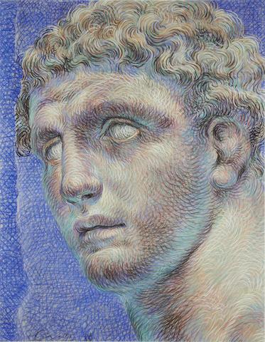 Ricardo Cinalli (Argentinian, born 1948) A portrait of Hermes