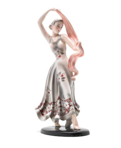 Goldscheider A Figure of a Lady, circa 1940