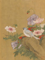 Attributed to Lu Zhi (1496-1576) Birds and Flowers