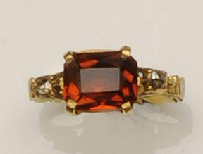 A mid-18th century memorial ring,