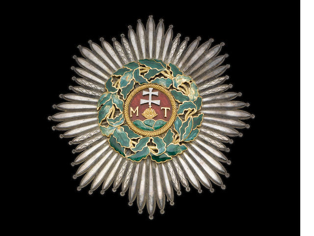 Austria, Austro-Hungary Order of St.Stephen metal breast star