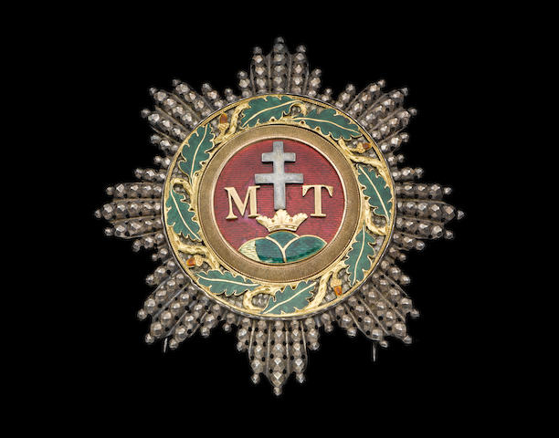 Austria, Austro-Hungary, Order of St.Stephen metal breast star