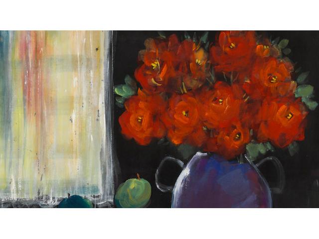 Li Fengmian (1900-1991) Red Roses