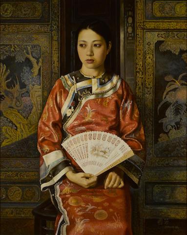 Jiang Guofang (b. 1951) Court Lady