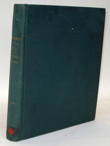 W.E. DE .B. Whittaker and Captain P.A.Barron: Automobiles Of The World;