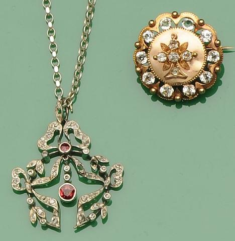 A collection of jewellery (6)