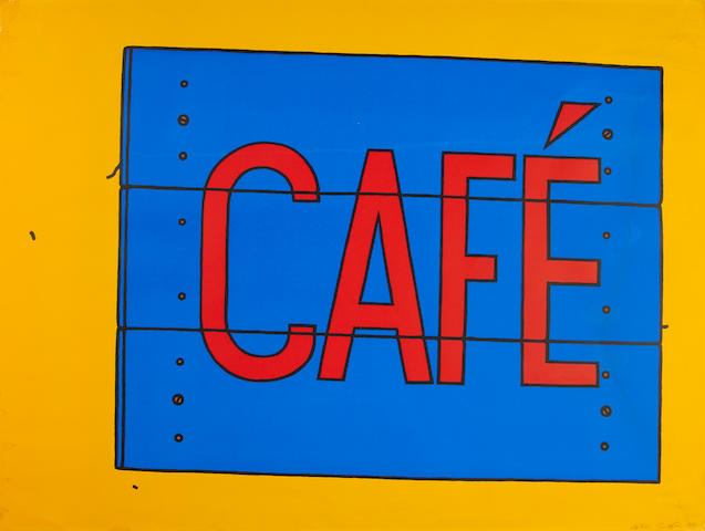 Caulfiled Cafe Sign