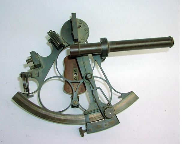 A 7ins.(18cm) radius sextant,