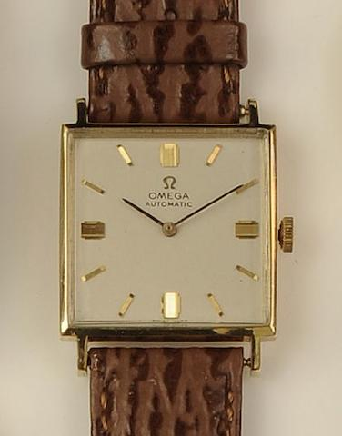 Omega: An 18ct gold gentleman's automatic wristwatch, circa 1960