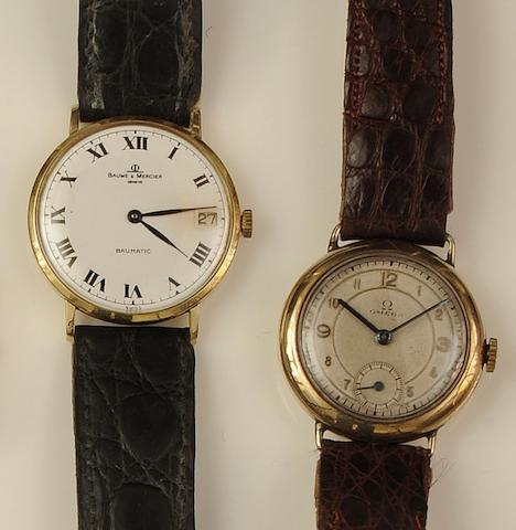 Two gentleman's wristwatches