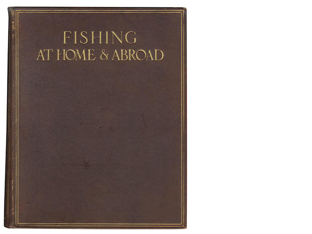 MAXWELL (HERBERT, editor) Fishing at Home & Abroad, NUMBER 567 OF 750 COPIES, 1913