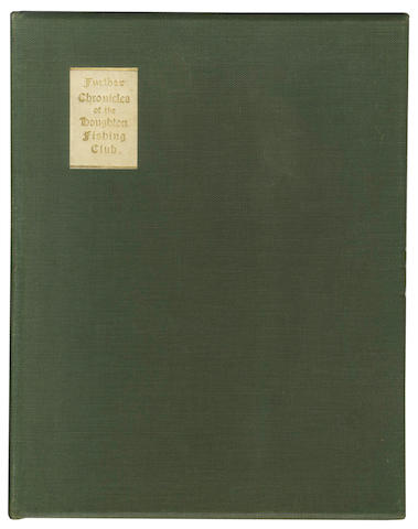 HOUGHTON FISHING CLUB MAXWELL (HERBERT, editor) Chronicles of the Houghton Fishing Club 1822-190, LIMITED TO 350, 1908; and further chronicles (2)