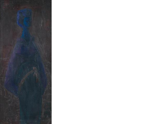 Yusuf Adebayo Cameron Grillo (Nigerian, born 1934) The Blue Madonna