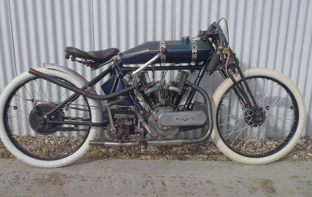 1921 Martinsyde 678cc Racing Motorcycle Frame no. 895 Engine no. J362