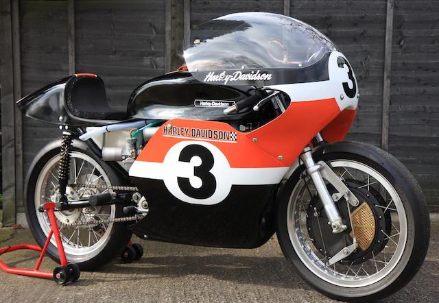 1972 Harley-Davidson XR750TT Racing Motorcycle Engine no. 1010 035H5