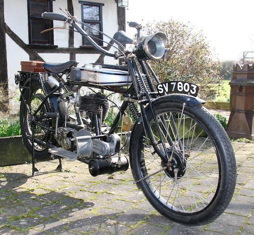 1924 Norton 633cc Big Four Frame no. 15008 Engine no. 6619