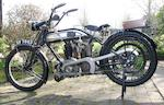 1924 Norton 633cc Big Four Frame no. 15008 Engine no. 6619