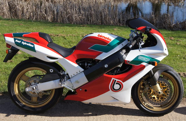 Circa 2,500 miles from new,1995 Bimota 749cc SB7 Frame no. SB6 00209 Engine no. R725-100034