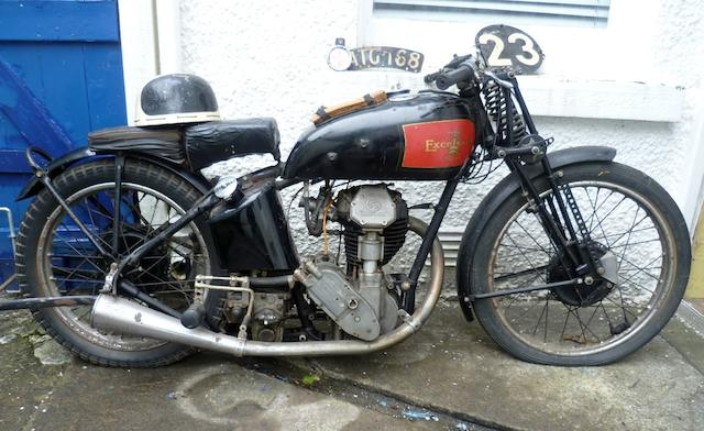 Property of a deceased's estate,1935 Excelsior 248cc Manxman Frame no. ME249 Engine no. BR125