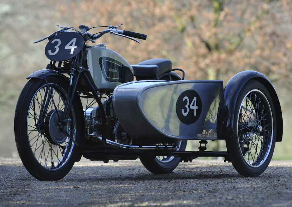 1931/32 Douglas 750cc Works Racing Sidecar Outfit