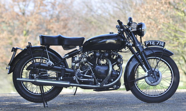 1955 Vincent Black Shadow Series C