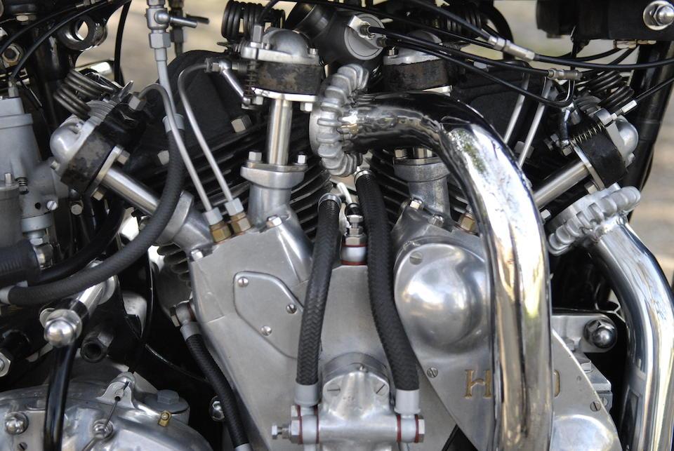 The ex-Brian Verrall,1939 Vincent-HRD 998cc Series-A Rapide Frame no. DV1753 Engine no. V1070