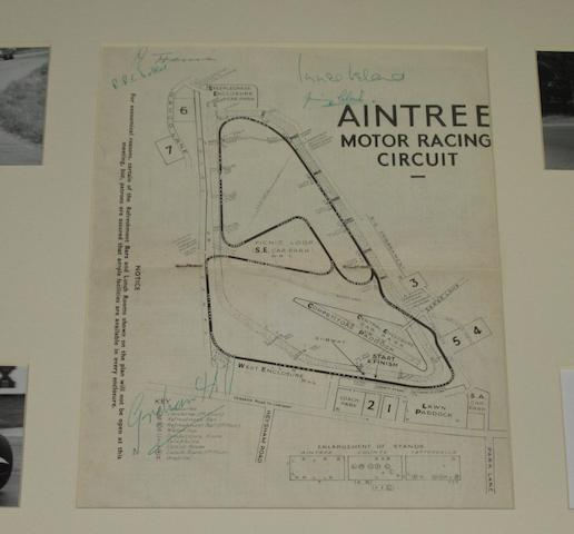 An autographed Aintree programme for the International '200' meeting, April 1960,
