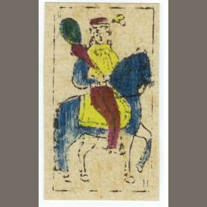 "A pack of ""Garcia Pattern"" playing cards, José Martinez de Pinillos, Torreceilla en Cameros, circa 1850,"