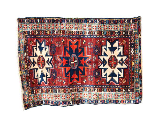 A Lesghi rug, East Caucasus, 150cm x 105cm