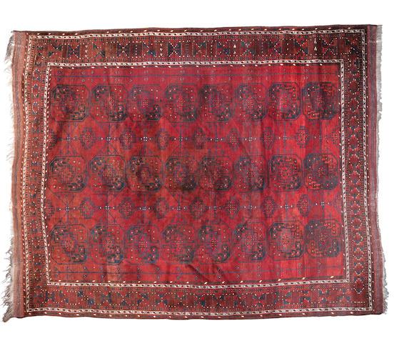 An Afghan carpet, 362cm x 283cm