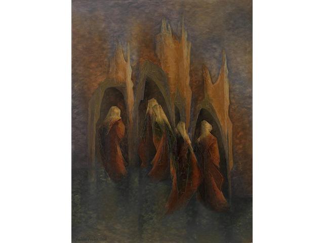 Jehangir Sabavala (India, born 1922) Untitled,